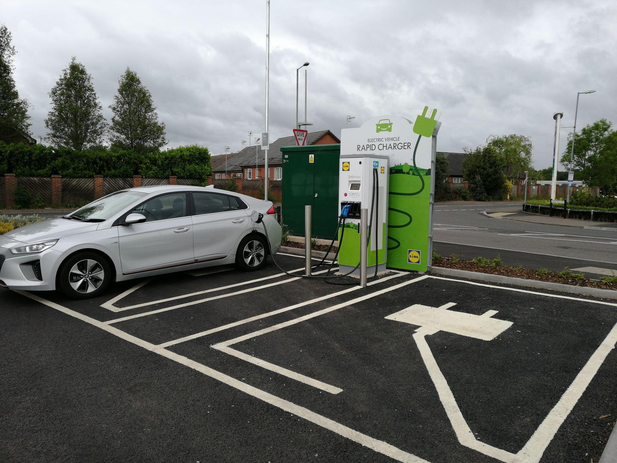 Lidl - Droitwich | PlugShare