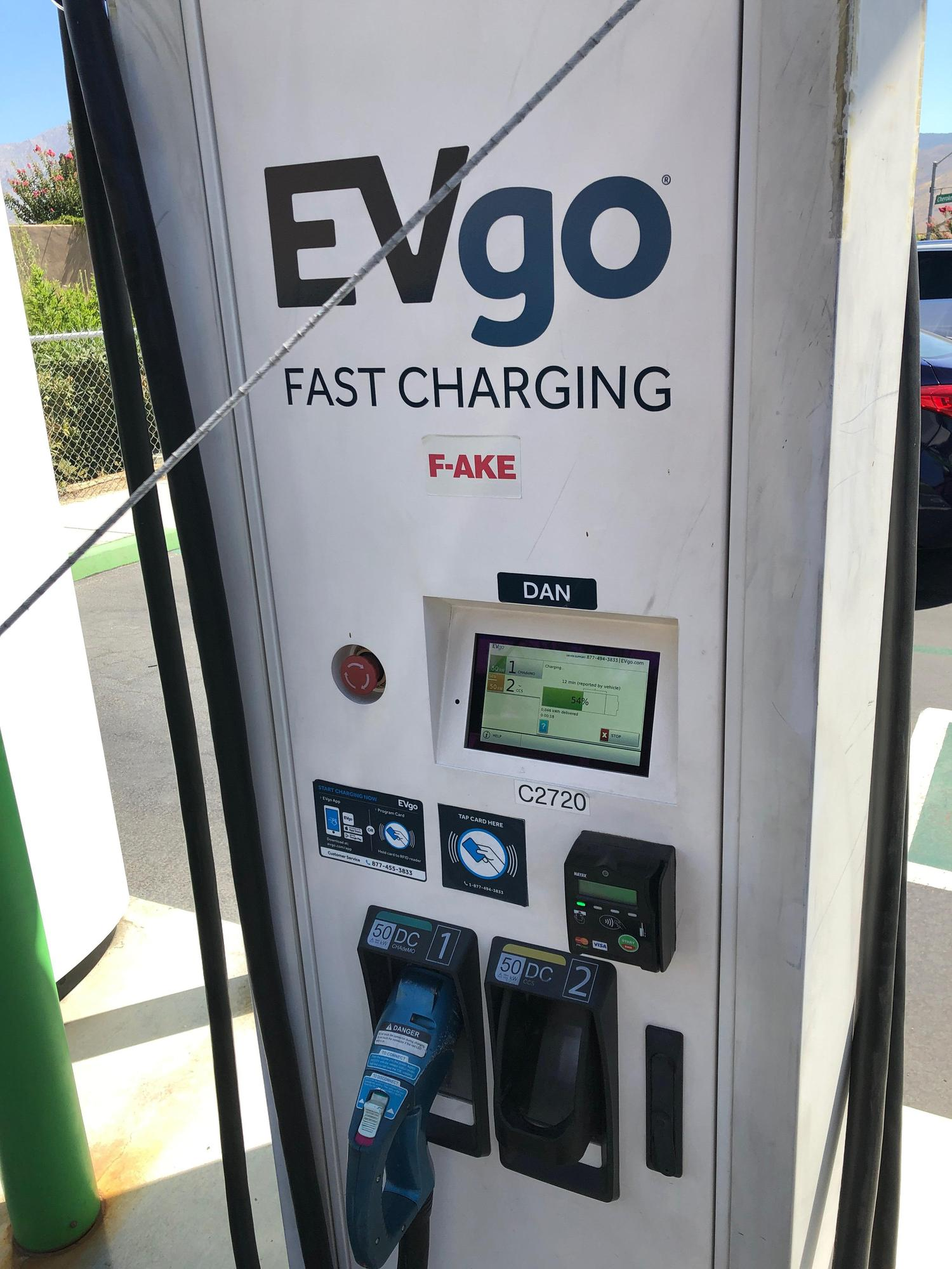 morongo casino ev charging